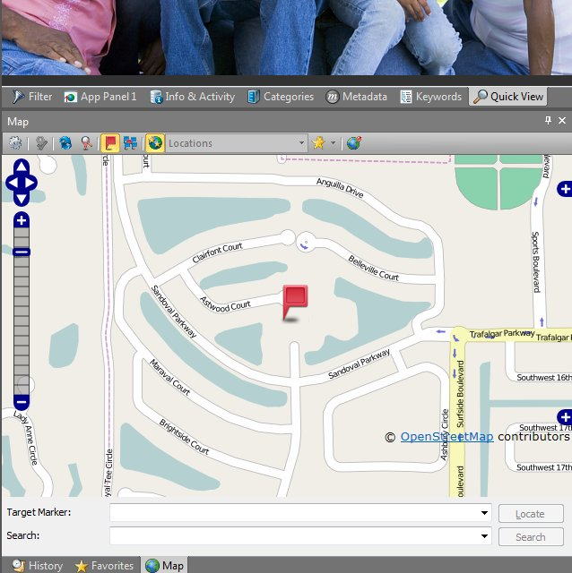 The IMatch photo catalog software includes a flexible Map feature which supports all major geo data providers (Bing, Google, OpenStreetMap). It also enables users to perform automatic and manual reverse-geocoding.