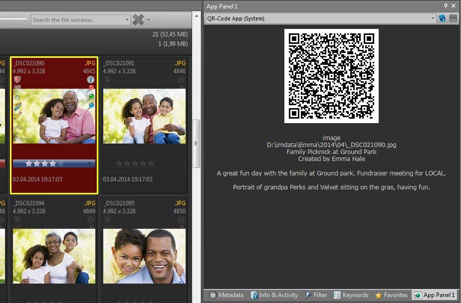 The QR Code App
