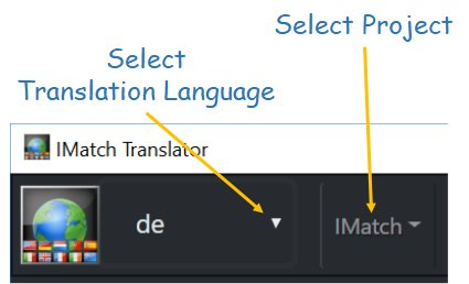 Selecting a Language and a Project