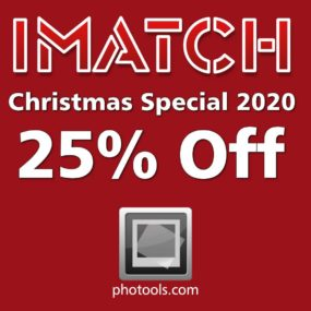 IMatch XMAS Discount 2020 - Save 25%